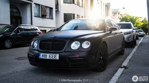 bentley continental flying spur black bentley wald continental flying spur speed black bison 19 îûì