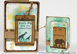 wildlife treasury cards creative cards using sizzix dies eileen hull