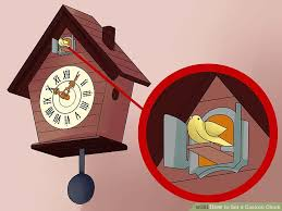 how to set a cuckoo clock 12 steps with pictures wikihow