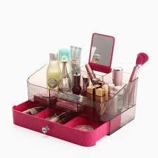 Makeup Organizer Desk Acrylic Makeup Organizer Drawer Box Cosmetic Storage Desk Bathroom
