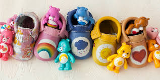 freshly picked debuts care bears baby shoe retro collaboration