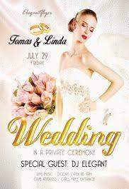 wedding flyer wedding free tri fold psd brochure template by elegantflyer