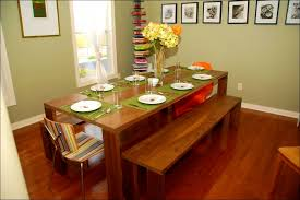 furniture astounding dining room set bench seating high table