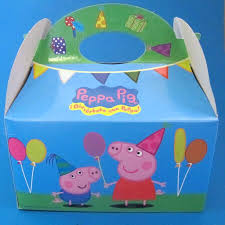 peppa pig party peppa pig party box party parcels