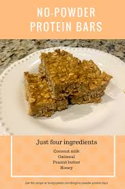 finally good homemade protein bars without protein powder full