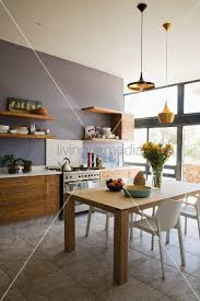 hã ngeleuchten design de pumpink küche holz granit