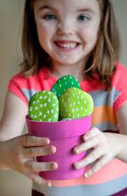 diy cactus rocks project nursery