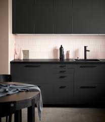 interior design of a kitchen ikea kitchen fronts made of recycled plastic reclaimed wood