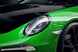 green porsche 2013 techart porsche 911 carrera 4s lean emerald green machine
