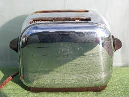 Toastmaster Toaster Working Vintage 1940 Toastmaster Art Deco Chrome Bakelite Toaster