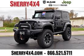jeeps makers models jeep wrangler rocky ridge lifted trucks u0026 jeeps