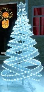 spiral christmas tree outdoor spiral christmas trees with lights 65769 loffel co