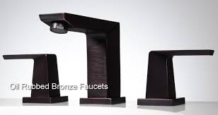 oil rubbed bronze faucets