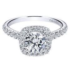platinum halo engagement rings platinum 1 2cttw cushion shaped halo engagement mounting