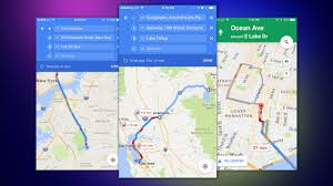 Google Map New York Google Maps For Ios Can Now Navigate To Multiple Destinations