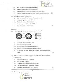 icse 2015 biology science paper 3 class 10 board question