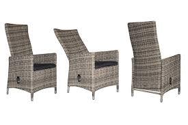 hayman outdoor reclining wicker chair