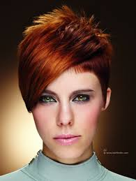 short women u0027s haircut with clipped sides close to the scalp