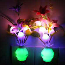amazon com itimo color changing nursery mushroom night light plug