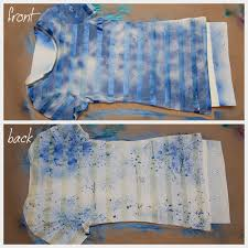 ilovetocreate blog diy striped t shirt with spray paint