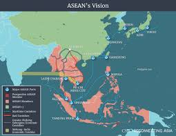 Central And Northern Asia Political Map by Competing Visions Reconnecting Asia