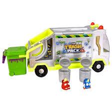 garbage trucks for kids surprise trash pack metallic garbage truck moose toys toys
