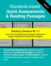 rl 7 1 evidence in literature reading literature 7th grade
