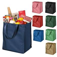polypropylene grocery tote shopping bag wholesale shopping bag