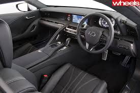 lexus lf fc interior 2017 lexus lc500 review wheels