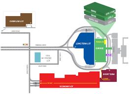 dayton map dayton international airport parking map
