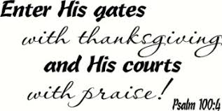 buy psalm 100 4 wall enter his gates with thanksgiving and