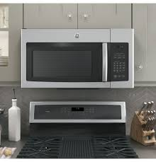 Overhead Door Model 456 Manual by Ge 1 6 Cu Ft Over The Range Microwave Oven With Recirculating