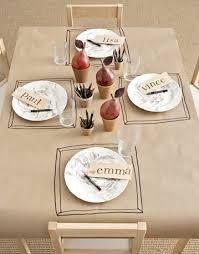 16 thanksgiving table ideas table setting kraft paper