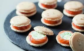 cuisiner le saumon frais de macarons chèvre frais saumon et pomme verte