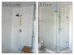 just shower doors 2perfection decor master ensuite shower reveal