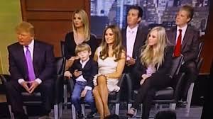 donald trump family donald trump melania trump ivanka trump and family