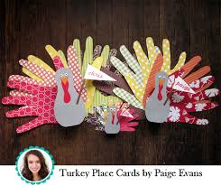 american crafts studio thanksgiving place cards week