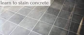 how to stain concrete part 2 farm fresh vintage finds
