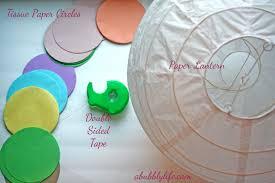 How To Make Paper Light Lanterns - a bubbly lifepaper lantern diy kalia s nursery the details a