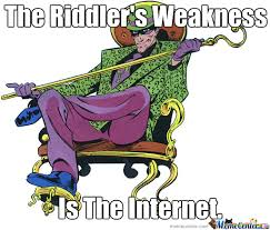 Riddler Meme - riddler meme by des rookie on deviantart