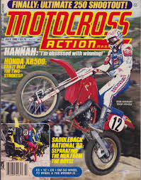 motocross action magazine favorite goggles my favorite pics of the hurricane bob hannah moto related