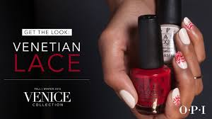 opi venice collection nail art venetian lace youtube