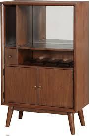 Pulaski Wine Cabinet Draper Brown Mirrored Wine Cabinet From Pulaski Coleman Furniture