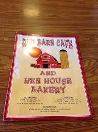 The Red Barn Mt Vernon Mo Menu Yelp