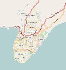 map of suva city mobile streetmaps suva fiji islands