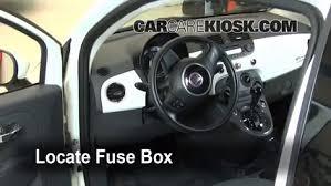 Fiat 500 Interior 2012 2016 Fiat 500 Interior Fuse Check 2012 Fiat 500 Pop 1 4l 4 Cyl