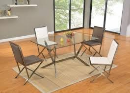 Brushed Nickel Dining Set Dining Room Ideas