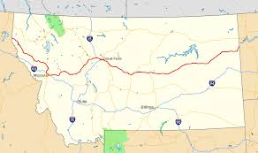 State Map Of Montana by Montana Highway 200 Wikipedia