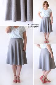 easy half circle skirt sewing tutorial it u0027s always autumn