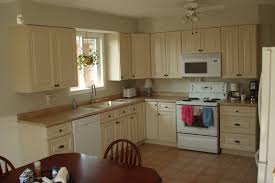 cream colored cabinets with brown glaze image pinterest u2014 the